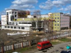 Строительство торгового центра на