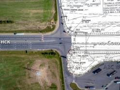 Проект трассы Р23: какими будут перекрёстки на новом участке республиканской дороги