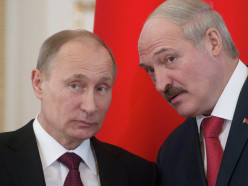 Лукашенко и Путин поздравили граждан с Днём единения народов Беларуси и России
