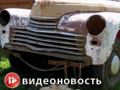 Коллекционер ретро автомобилей из-под Слуцка