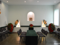 Ритуальный зал в Доме быта предоставляет возможность проститься с усопшими