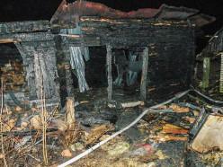 На пожаре в деревне Рудня погиб хозяин дома
