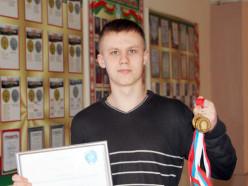 Учащийся СШ №11 Владислав Гадалов – ученик года Минской области в 2015 году
