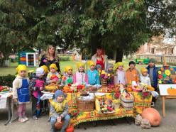 В 11-м ясли-садике Слуцка прошла традиционная осенняя ярмарка