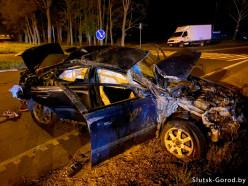 Под Слуцком водитель Volvo насмерть сбил скутериста (обновлено)