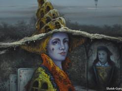 В галерее искусств открылась выставка загадочных работ Александра Салтавца