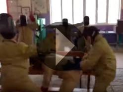 Солигорские сварщики сняли свою версию клипа Satisfaction. Милиция просит провести проверку