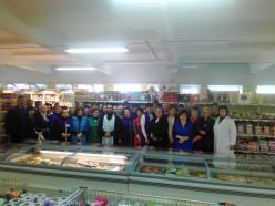 Благочинный Слуцкого округа совершил освящение продуктового магазина «Северный»