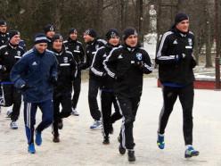 Футбольный клуб «Слуцк» вышел из отпуска и приступает к тренировкам