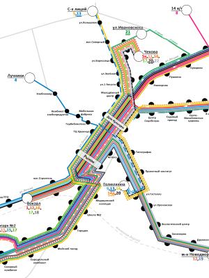 Новая схема движения транспорта, 2013