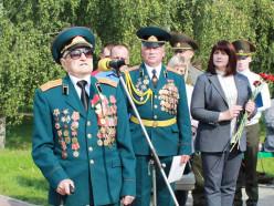 Митинг, посвященный Дню танкиста, прошел в Слуцке