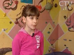Десятилетняя случчанка стала серебряным призером республиканского соревнования скалолазов