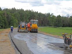 «Славкалий» завершает строительство дороги к ГОКу в Любанском районе