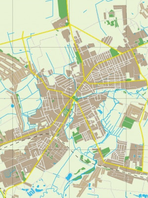 Городская карта Слуцка