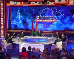Лукашенко: сегодня главная задача СМИ - это борьба за умы и души людей