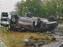 В Солигорске опрокинулся BMW X5, водитель погиб