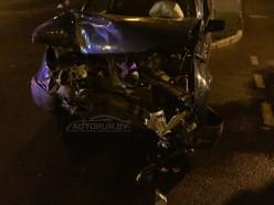 В ночной аварии в Солигорске пострадали два человека