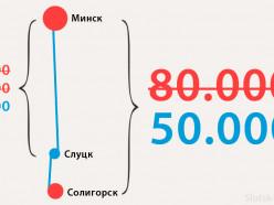 Солигорские маршрутки снизили цену до 50 тысяч
