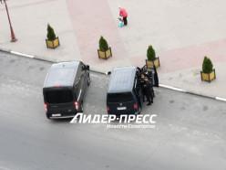 На площади в Солигорске вчера задержали нескольких человек