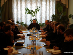 Состоялось первое в этом году заседание совета Слуцкой епархии