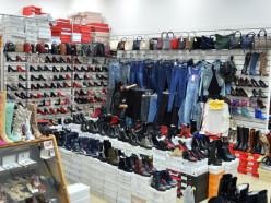 Магазин женской обуви «Стрекоза» переехал в другое крыло ТЦ «Маяк»