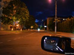 На некоторых улицах Слуцка вновь зажглись фонари