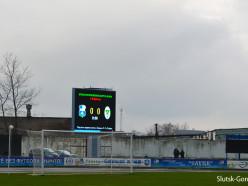 На стадионе «Городской» в Слуцке начало работать новое табло