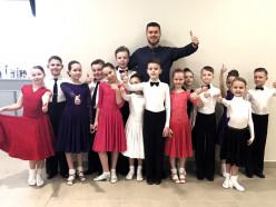 Юные танцоры из Слуцка заняли первые места на чемпионате страны