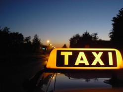 Выбор службы такси