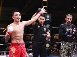 Случчанин уступил китайскому бойцу в профессиональном поединке по ММА. Видео