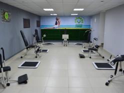 На «Острове» открылся новый фитнес-клуб с гидравлическими тренажёрами