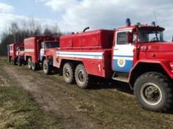 В Солигорском районе горит торфяник