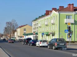 На центральном перекрёстке Слуцка изменился режим работы светофоров