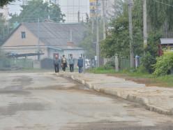 На улице Советской за две недели построили тротуар. Но есть нюансы