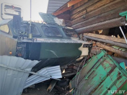 «Ехали в сторону Слуцка». Ракетный комплекс снёс пол жилого дома в Осиповичском районе (обновлено)
