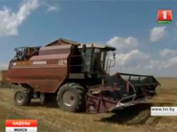 БТ про уборку зерновых в Слуцком районе
