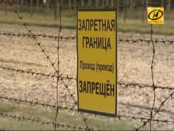 Прошли учения на военной базе в Слуцком районе