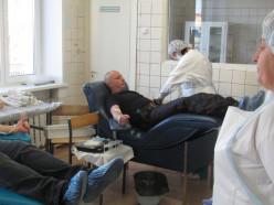 Сотрудники слуцкой милиции приняли участие в Дне безвозмездного донорства