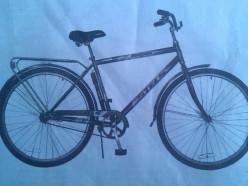 Милиция ищет людей, которым известно местонахождение украденного велосипеда
