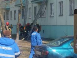 Пожар на улице Виленская: горела оконная рама с вентилятором