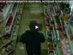 В Солигорске мужчина «угнал» кофе из магазина на чужом велосипеде. Розыск