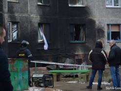 Возле дома на улице Солигорская взорвался баллон с газом (обновлено)