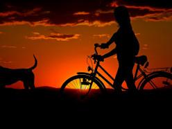 Оставленный без присмотра велосипед - легкая добыча для преступника