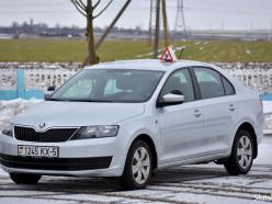 Сдать на права в Слуцке можно на современном автомобиле «Skoda»