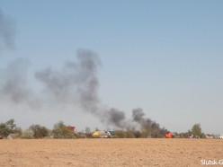 На пожаре в деревне Ячево заживо сгорели свиньи