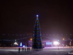 В новогоднюю ночь для случчан проведут дискотеку на центральной площади
