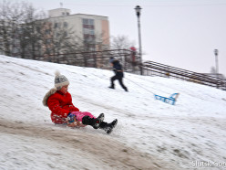 Зимние забавы на Случи. Фото, видео