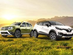 Последние внедорожники Renault со скидкой до 10%!