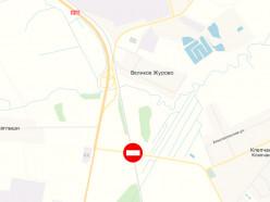 Во вторник с 5 утра будет закрыто движение через жд-переезд от д. Клепчаны